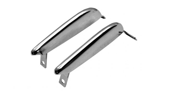 Front Bumper (Guard) Overider (Pair) 64-66