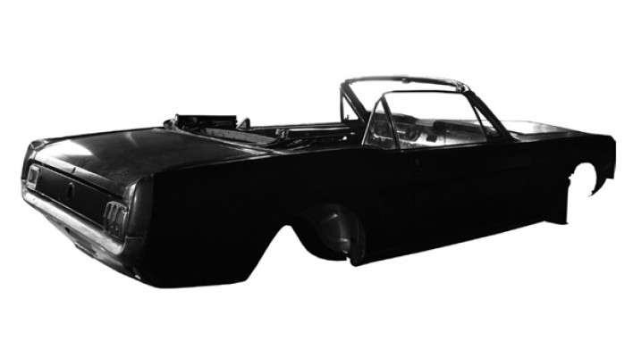 Body Shell Convertible 65-66