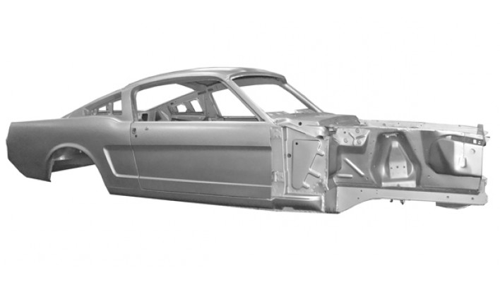 Body Shell Fastback 65-66