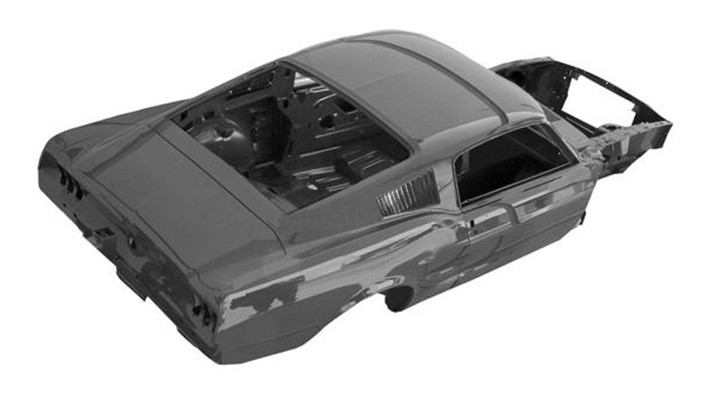 Body Shell Fastback 68