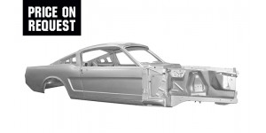 Body Shell Fastback 65-66