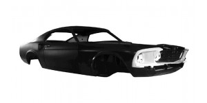Body Shell Fastback 70